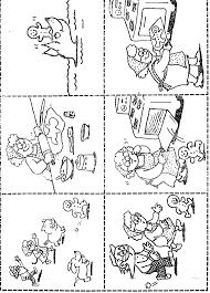 the gingerbread man sequence kindergarten pinterest