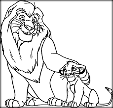 disney lion king coloring pages to print color zini