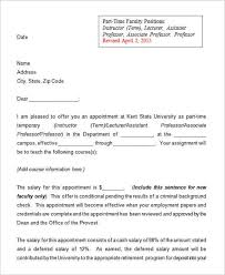 awesome collection of sample job offer letter for opt for sheets
