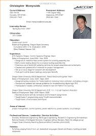 Examples Of Student Resumes by Good Resume Examples For College Students