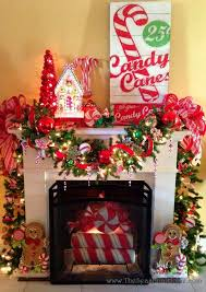 Christmas Decoration For A Fireplace by Candy Coated Christmas Fireplace Decor Macdowells Fireplaces