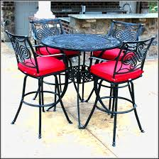 Bar Height Patio Furniture Sets Bar Height Patio Furniture Set Patios Home Design Ideas
