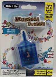 musical dreidel 3 musical dreidel song light up dreidel party supplies ages 4