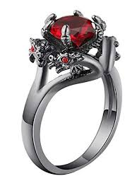 dragon engagement rings images Ginger lyne collection dragon ring black gun metal plated jpg