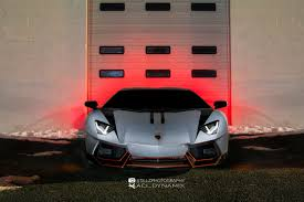 Brushed Chrome Wrapped Lamborghini Aventador U2013 Aci Dynamix