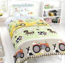 kids bedding set from our apple tree farm collection toddler