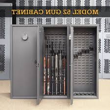 model 52 gun cabinet secureit tactical model 52 six gun storage cabinet storage designs