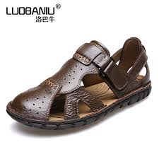 summer small size s sandals leather breathable