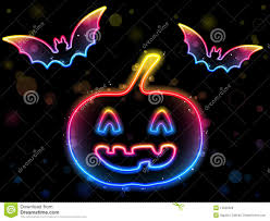 halloween dark background halloween neon background stock photo image 15500220