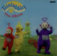 teletubbies album lenticular insert uk promo cd album cdlp