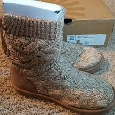 ugg womens isla boots 41 ugg shoes ugg womens isla knit boot from moria s