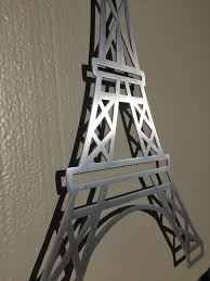eiffel tower decorations cool metal eiffel tower wall wall decorations