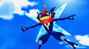 pokemon what is the ash greninja form of greninja anime