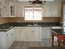 Modern Kitchen With White Appliances Kitchen Design White Cabinets Black Appliances Interior Design