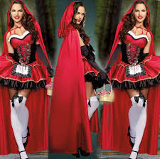 2017 plus size dress little red riding hood costume