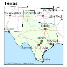 kyle map best places to live in kyle