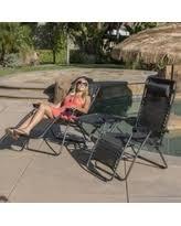 deal alert belleze premium 2pc patio chairs zero gravity chair