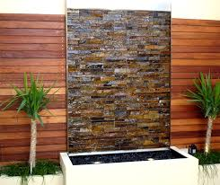 enchanting outdoor water wall design 14 on home design ideas with