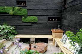 Garden Wall Paint Ideas Interesting Inspiration Black Garden Wall Lovely Decoration 1000