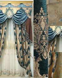 Black Out Curtain Fabric High Quality Thick Chenille Fabric Insulated Blackout Curtain