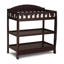 Sears Changing Table Delta Children Chocolate Changing Table With Pad Baby