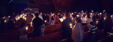 vigil lights catholic church my photo journey through the easter triduum