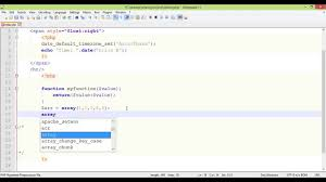 Array Map Php Array Functions Tutorial Part 14 Array Map Youtube