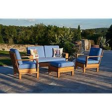 Patio Furniture Conversation Set Amazon Com Margaritaville Aruba Patio Furniture Conversation Set