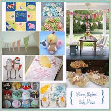 Nursery Rhymes Baby Shower Decorations For Your Inspiration Nursery Rhymes Baby Shower Nursery Rhyme Baby