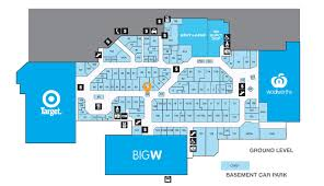 Shopping Centre Floor Plan by Stores Castletown