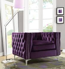 Purple Accent Chair Best Selling Luxurious Purple Accent Chairs Living Room On
