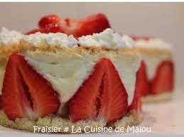 la cuisine de malou recettes de fraisier de la cuisine de malou