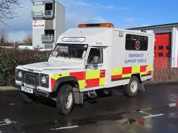 range rover truck conversion land rover defender 130 td5 emergency support vehicle built on