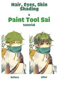 my friends asked me for an tutorial for paint tool