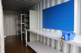Hire A Shipping Container For Storage Repeat Order 20ft Workshop Storage Container Conversion