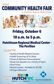Hutch Health 2017 Community Health Fair Hutchinson Regional Healthcare System