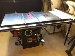 Ridgid Router Table Installing A Cast Iron Router Wing In My Sawstop Pcs Making