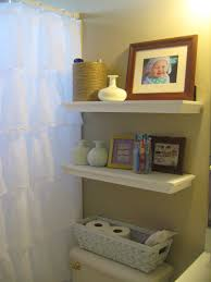 Bathroom Shelves Ideas Perfect Bathroom Over The Toilet Storage Ideas Floating Shelf In