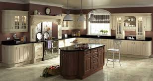 unique cream cabinets kitchen taste