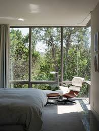 eames chairs technique austin transitional bedroom decorating