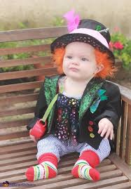 Mad Hatter Halloween Costume Girls Mad Hatter Baby Costume Small Buckets Mad Baby Costumes