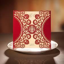 Wedding Cards Online India Brand Wedding Invitation Card Red Laser Design Wedding Invitations