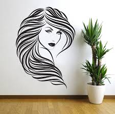 popular sexy wall sticker bedroom buy cheap kedode sexy woman bedroom wall stickers long hair room decoration china mainland