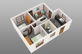 2 bedroom small house plans 2 bedroom house floor plan 3d beautiful furniture 3 bedroom bungalow