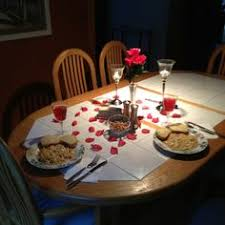 Light Dinner Have A Romantic Candle Light Dinner At Home Boyfriend
