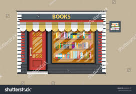Bookcase Shop Book Shop Store Building Library Book Stock Illustration 695674177