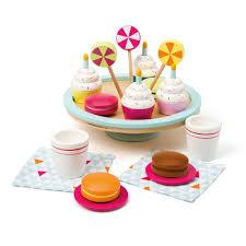 jeux de cuisine de cupcake goûter d anniversaire en bois imagibul création oxybul pour enfant
