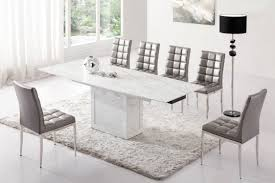 Plush Dining Room Chairs Marvelous Ideas Grey Dining Table Set Fancy Plush Design Grey