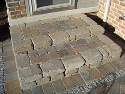 How To Make A Patio Out Of Pavers Patio Steps Backyard Pinterest Patio Steps Patios And Backyard