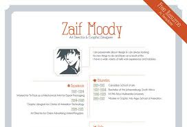 graphic design resume template neat and engaging free resume templates ewebdesign